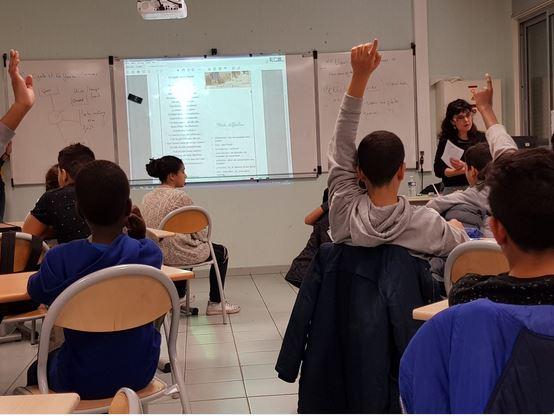 Classe inter degré 2017-2018